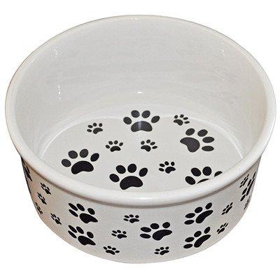 PremiumConnection Pet Dog Ceramic Pet Bowl