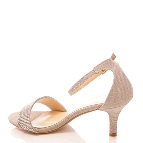 Kitten Heel Sandals Uk | Tsaa Heel