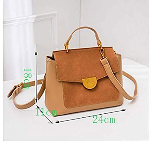 XYZMDJ sydd handväska, enkel mångsidig axelväska ledig stor kapacitet crossbody väska