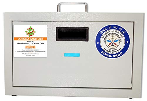UV Light Sanitizer Box India Certified By DRDO