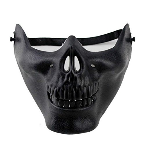 Devil Skull Mask (Warrior Airsoft Mask Halloween)