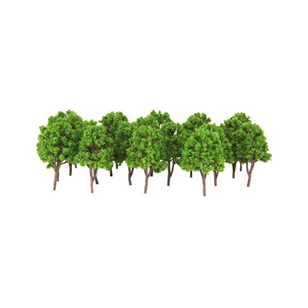 25x Train Scenery Trees Model Trees Perfect architectural model 1:150 Scale