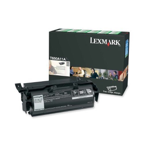 Lexmark T650A11A Black Print T65X Return Program  Toner Cartridge by Lexmark