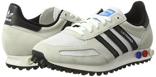 la Brown Core Blanco Deporte de Vintage adidas OG White Zapatillas Hombre Trainer Clear para Black fwdqq1H6