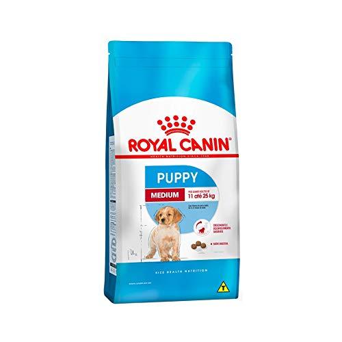 Ração Royal Canin Medium Junior para Cães Filhotes - 15Kg