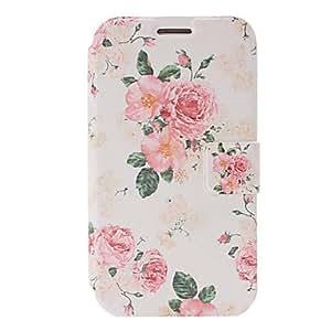 Bkjhkjy Fashion Small Fresh Peony Flowers Pattern Plastic Case for Samsung Galaxy S3 I9300