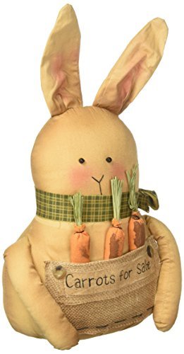 CWI Gifts GCS36581 10'' Harrison Bunny Doll, Multicolored by CWI Gifts
