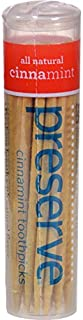 product image for Preserve Cinnamint Flavored Toothpick - 35 per pack - 24 packs per case.