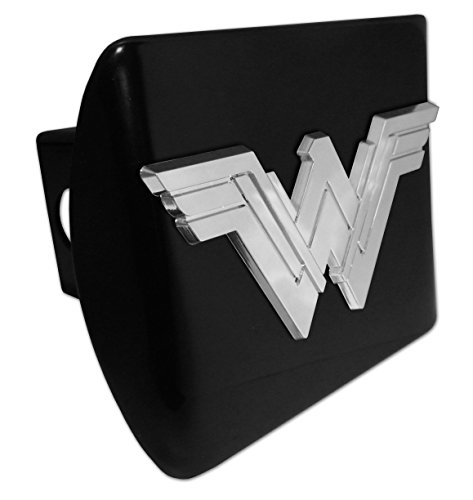 Wonder Woman (Stacked) ALL METAL Black Hitch (Womens Hitch)