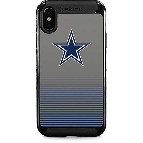 the best attitude fe1bd 50352 Amazon.com: Dallas Cowboys Breakaway iPhone XS Case - NFL | Skinit ...