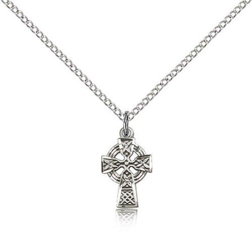 Icecarats Créatrice De Bijoux En Argent Sterling Pendentif Croix Celtique 1/2 X 3/8 Pouces