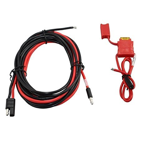 Motorola Dc Power Cable (Motorola Original OEM Mobile Radio Power Cable for Two Way Radios DC 15a Fuse 10ft Chord for Mobile Radio Power Cable HKN4137 DC 15a Fuse 10ft Chord for XPR 4300, XPR 4350, XPR 4380, more)