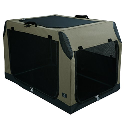 A4Pet Large Collapsible Leakproof Dog Crate with Waterproof Bottom for Large Dog up to 70 pounds by A4Pet (Image #4)