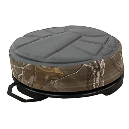 Hawk Memory Foam Bucket Seat, Black (Seats Ice Fishing)