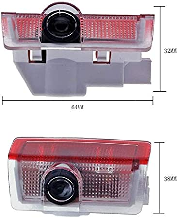 2PCS Car Door LED Light Projector Ghost Shadow Lights Welcome Light Laser Logo Lights Car Projection,for GLC GLE GLS GLA ABE Plug and Play for B-ENZ