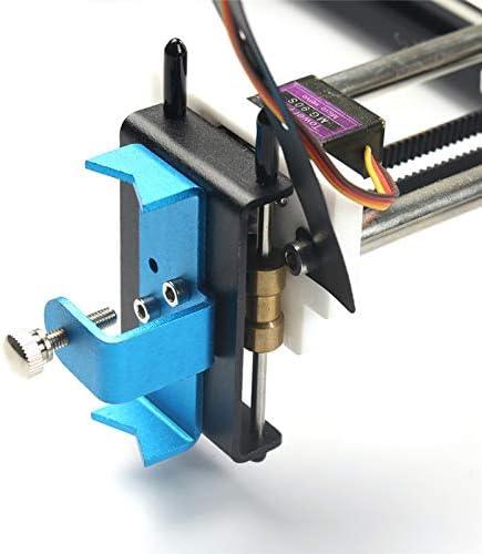 SISHUINIANHUA Mini XY 2 Ejes CNC Pen Plotter Bricolaje Dibujo Máquina Impresora 28 * 20 cm de Grabado de precisión de 0,1 mm: Amazon.es: Hogar
