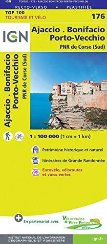Ajaccio / Bonifacio / Porto-Vecchio PNR de Corse (Sud) 2019 (Top 100 Tourisme et découverte) por Ign