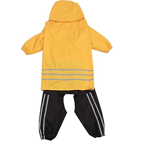 dog rain coat and rain hat - 7