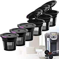 6 Pack Coffee Filter Refillable Reusable K Cup