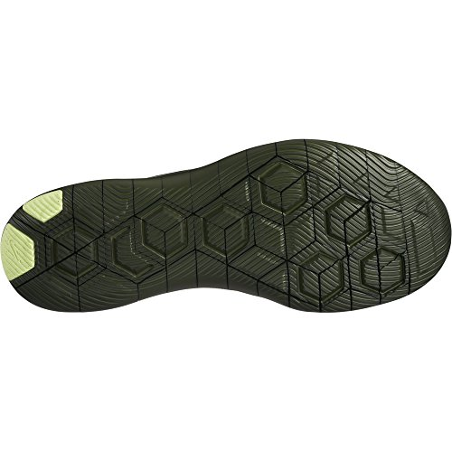 Nike Mens Flex Contact Loopschoen Sequoia / Amper Volt 9