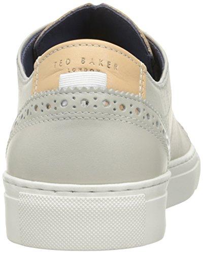 Ted Baker Mens Kiing Fashion Sneaker Grigio Chiaro