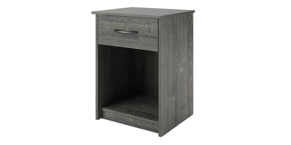 Amazon.com: Mainstays Nightstand/end Table, Multiple Colors, Features One  Drawer. Max Weight Capacity For Top Of Nightstand: 50 Lbs. Made Of  Composite Wood.