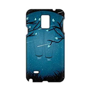 Evil-Store Meteor moon swing beautiful scenery 3D Phone Case for Samsung Galaxy Note4