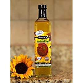 Cold Pressed High Oleic Sunflower Oil 5 Cold Pressed at 85 degrees Great for oil pulling Heart healthy