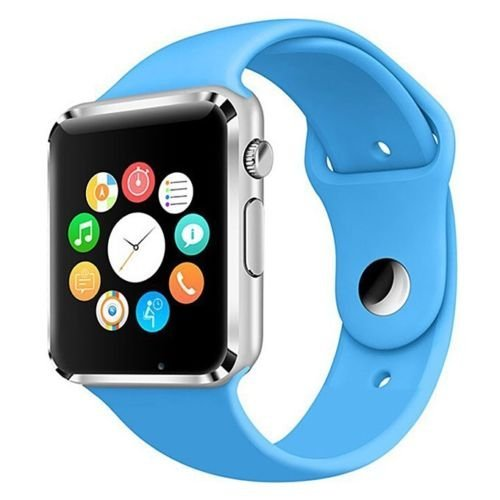 Inteligente Reloj Bluetooth W8 Soporte Whatsapp Con TF tarjeta SIM cámara reloj de pulsera para Android SmartWatch: Amazon.es: Amazon.es