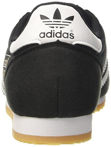 adidas Dragon Og, Zapatillas para Hombre Negro (Core Black/ftwr White/gum)