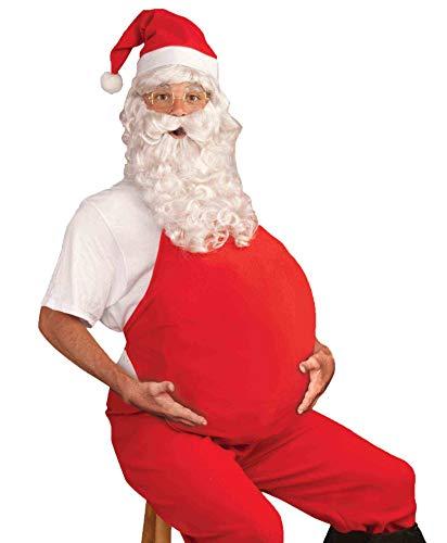 Forum Novelties Men's Costume Belly Stuffer, Red, One