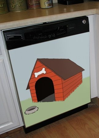Appliance Art House Dishwasher Cover