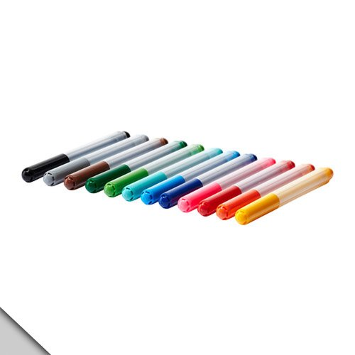 Felt Mali - IKEA - MÅLA Felt-tip pen, assorted colors (FBA)