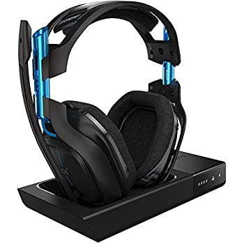 Image of Accessories ASTRO Gaming A50 Wireless Dolby Gaming Headset for PlayStation 4 & PC - Black/Blue (2017 Model)
