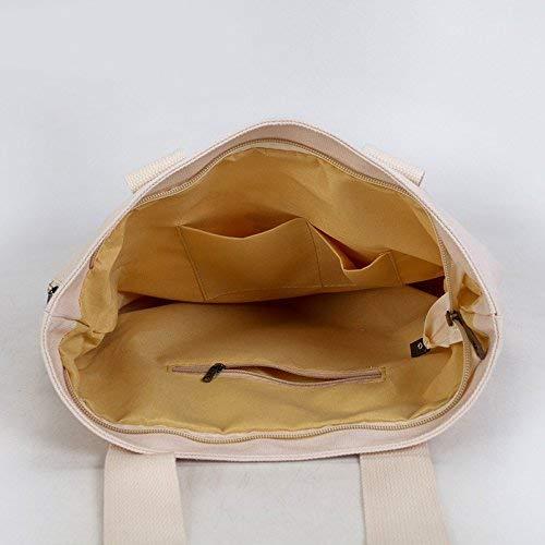 Hombro color La B Lona Compras D D Protección Eeayyygch De Ambiental Bolso Tamaño OqxSEE4