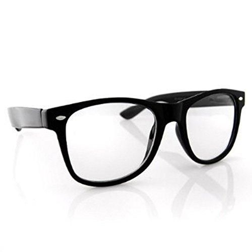 Chuckie Finster Halloween (Nerdy Glasses Nerd Clear Sunglasses Halloween Costume Chuckie Finster Garth)
