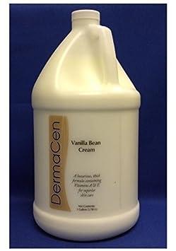 DermaCen Vanilla Bean Cream 1 Gallon Bottle – 1 Each