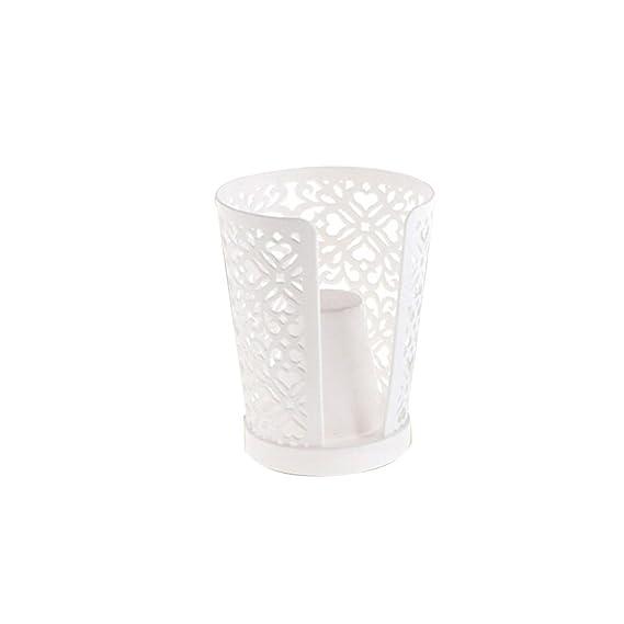 BESTOMZ Portavasos Cuarto de Baño dispensador de Papel desechable Dispensador del Estante Dispensador Fuerte (Color Aleatorio): Amazon.es: Hogar
