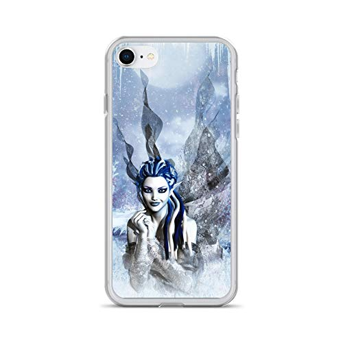iPhone 7/8 Case Anti-Scratch Phantasy Imagination Transparent Cases Cover Fairy Seasons #4 Fantasy Dream Crystal Clear