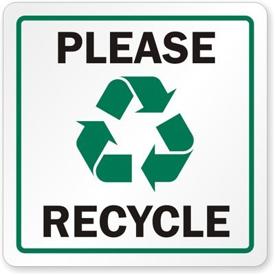 Image result for please recycle