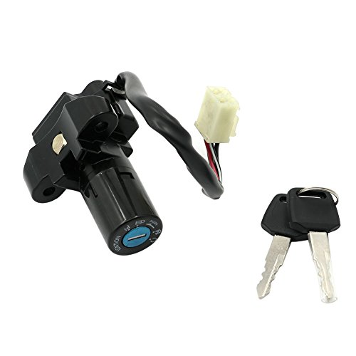 Alpha Rider Motorcycle Ignition Switch Lock and Keys Set for SUZUKI GS500E GM51A 1989-2002 | GSX600F 1988-1997 | RF600R 1993-1997 | GSX750F 1989-1997