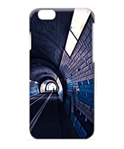 VUTTOO Iphone 6 Case, Underground Subway Tunnel PC Case Cover Protector for Apple iPhone 6 4.7 Inch