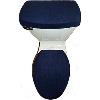 Amazoncom BATMAN LOGO Fleece Fabric Toilet Seat Cover Set Batman