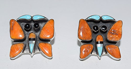Orange Spiny Oyster Inlaid Butterfly - Oyster Spiny Inlaid