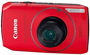 Canon PowerShot SD4000IS 10 MP CMOS Digital Camera with 3.8x Optical Zoom and f/2.0 Lens (Red)