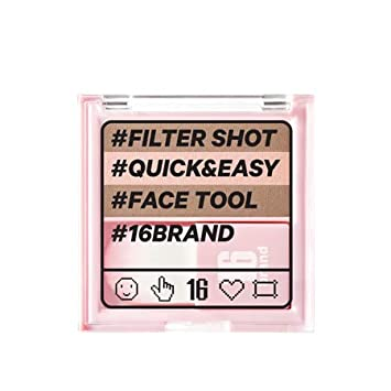 Chosungah Beauty 16 Brand Filter Shot 7g 0.07 oz 2019 New Quick and Easy, 2 Types Contour Peach