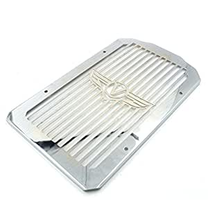 alpha rider motorcycle stainless radiator cover grill. Black Bedroom Furniture Sets. Home Design Ideas