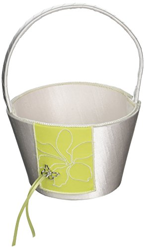 terfly Dreams Flower Girl Basket- Green by Weddingstar Inc. (Butterfly Dreams Flower Girl Basket)