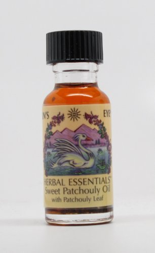 Sweet Patchouli - Sun's Eye Herbal Essential Oils - 1/2 Ounce Bottle - incensecentral.us