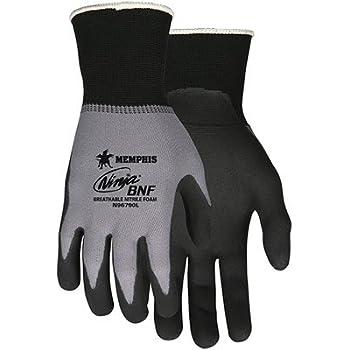 Memphis N96790 Ninja BNF 15 Gauge Nylon/Spandex Gloves, Size S (12 Pair)